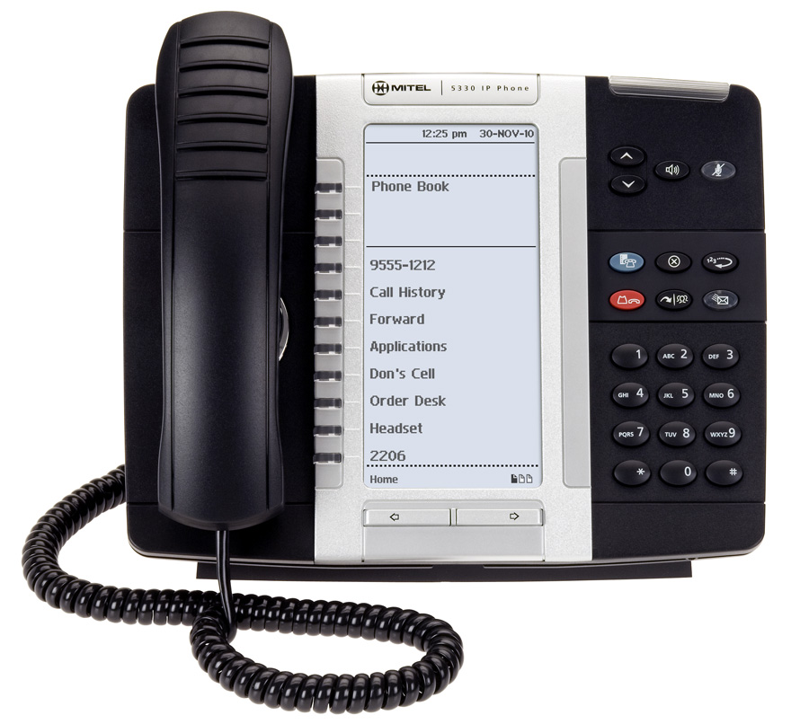 Mitel MiVoice 5330e IP Phone